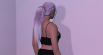 Ponytail with a braid hairstyle for MP Female 1