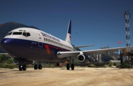 Boeing 737-200 British Airtours (Landor Associates) Livery