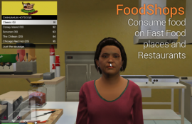 FoodShops: Fast Food places and Restaurants