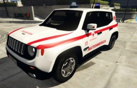 Jeep Renegade Croce Rossa Italiana - CRI | Reskin [ELS]