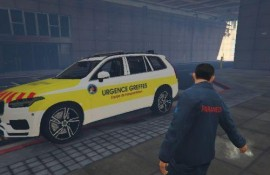 Volvo urgence greffe samu