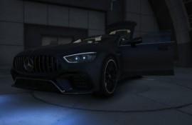 DennisKA111's Mercedes AMG GT63S Beige Interieur