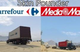 Skin Pounder Carrefour y MediaMarkt