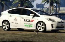 Taxi Híbrido Toyota Prius SP - Blazilian Taxi
