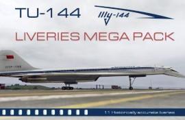 TU144 LIVERIES MEGA PACK