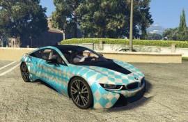 2015 BMW i8 by [YCA]Aige - oilpaint, pattern [Paintjob]