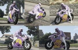 Bati2 Lakers Theme Paintjob