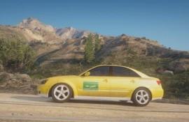 Jordanian Coop-Taxi skin for Hyundai NF Sonata