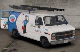 """RooterHero"" Paintjob for durzo's Chevrolet G20 [2K]"