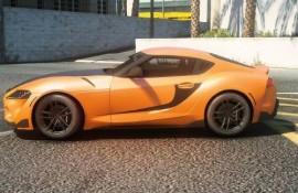 Fast & Furious 9 Han's Supra Livery For Supra A90