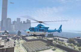 GTA III-style police helicopter