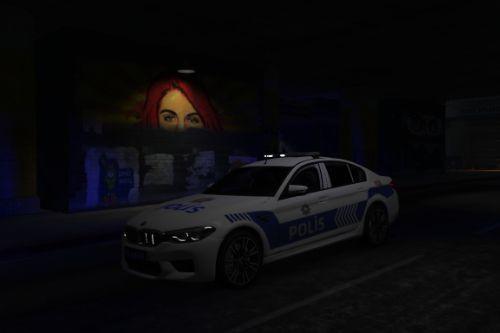 2018 BMW M5 F90 Türk Polis Aracı [Replace | ELS]