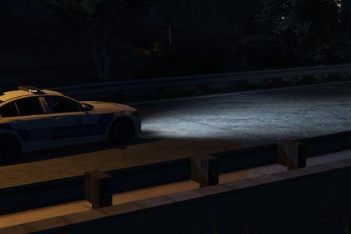 2018 BMW M5 F90 Türk Trafik Polis Aracı[Replace   ELS]