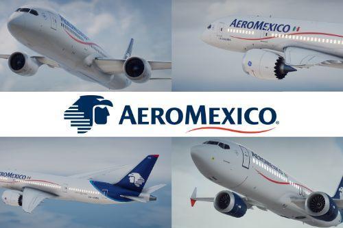 Aeromexico Pack | Boeing 737 / 787