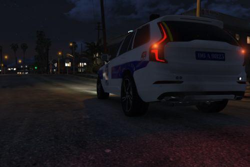 Volvo XC90 Türk Polis Aracı [Replace | ELS]