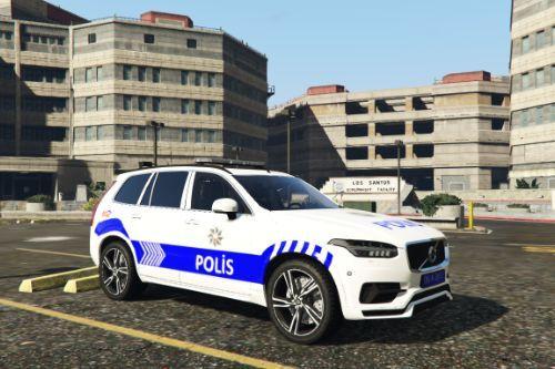 Volvo XC90 Yeni Türk Polis Aracı [Replace   ELS]